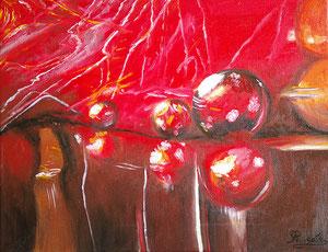 bulles rouges -Copyright Pascale Richert