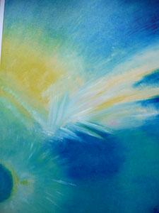 Eclat de lumière (huile 70 x 50 cm)-Copyright Pascale Richert