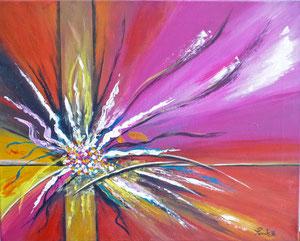 Acrylique 60x70 cm - copyright- Pascale Richert