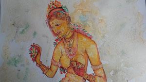 demoiselle de Sigiriya