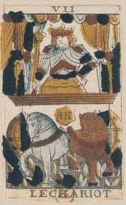 VII Le Chariot  - Le Tarot de Jean Noblet