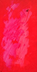 SAS_16-10  Drei mal Rot, mit Dreieck   (120 x 60 cm)