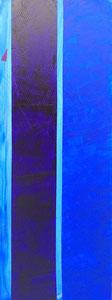 SAS_16-20 Purpur + Marine auf Himmelblau + Dreieck (150 x 50 cm)