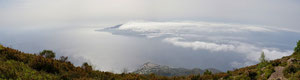 Visa panoramica verso Lipari