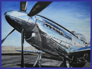 Reno Race Oil on canvas