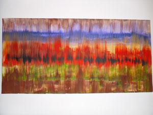 Nr. 49 Acryl auf Leinwand 40 x 80 (verkauft)