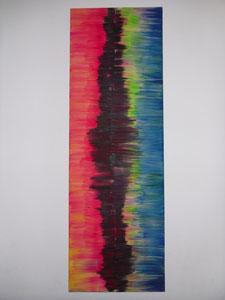 Nr. 48 Acryl auf Leinwand 30 x 90