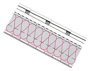 Steildach S05-1, 24 cm Zellulosedämmung