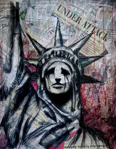 Liberty is Dying 20x30