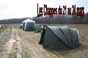 Les chappes du 21 au 24 mars 2013
