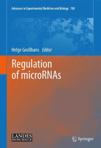 Regulation of microRNAs