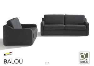 Mogelijk met Longchair (Links of Rechts) - complete salon  mogelijk met een 2 zit / 1 zit