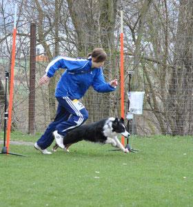 Alina und Hundesport