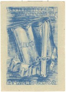 1943 Cartolina dal fronte greco-albanese
