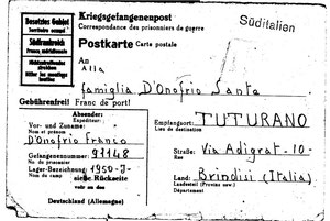 1944 - Cartolina prigionieri di guerra 1
