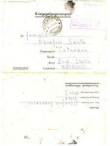 1944 - Istruzioni invio pacchi ai prigionieri di guerra 1