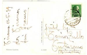 1925 - Cartolina da Tirana