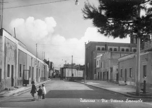 Via Vittorio Emanuele - Tuturano - anni '50