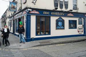 Irlande, Dundalk, Pub Mac Manus
