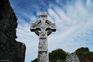 Croix celtique en Irlande