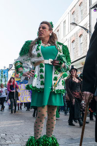 Galway, parade de la St-Patrick, association gay