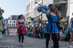 Irlande, Comté du Connemara, Galway, parade de la St-Patrick,
