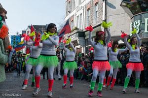Irlande, Comté du Connemara, Galway, parade de la St-Patrick, Salsa
