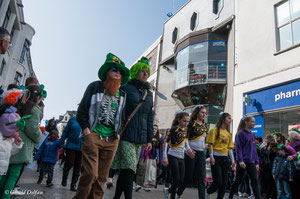 Galway, parade de la St-Patrick, association