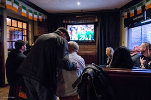 Pub, France contre Irlande à Dundalk