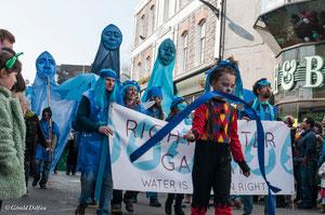 Galway, parade de la St-Patrick, qualité de l'eau
