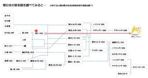 朝日米のルーツをたどってみましょう。