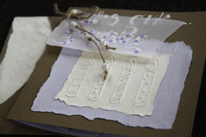 geburtstagskarte, format 15 x 15 cm, mit inneblatt und passendem couvert, fr. 9.50