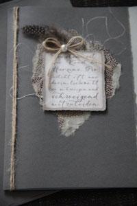 """kondolenzkarte """"trösten ist eine kunst....."""", format 21 x 15 cm, inkl. innenblatt und passendem couvert, fr. 9.50"""