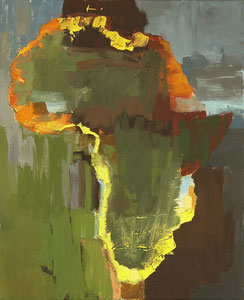 Africa 12, 2004, 49 x 60 cm, oil on canvas