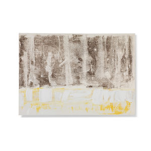 Wald 4, 2013, 42 x 60 cm, printing ink on paper on wood