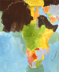 Kongo, 1999, 140 x 115 cm, acrylic on canvas