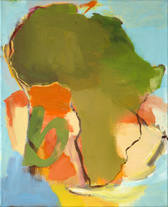 Africa b, 2000, 60 x 49 cm, oil on canvas