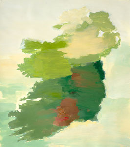 Ireland 2, 2002, 54 x 48 cm, oil on paper