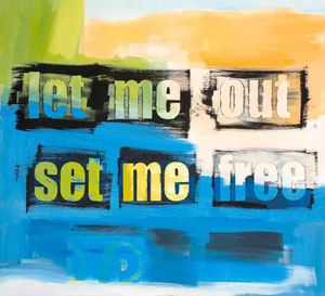 let me out, 2008, 76 x 91 cm, oil on canvas