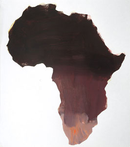 Africa 9, 2001, 54 x 48 cm, oil on paper