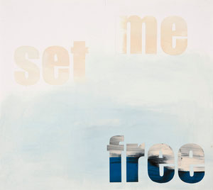 set me free, 2006, 48 x 54 cm, oil on paper