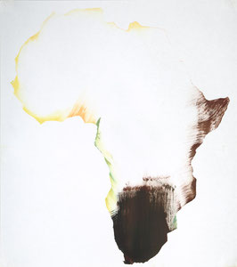 Africa 8, 2001, 54 x 48 cm, oil on paper