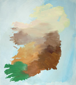Ireland 1, 2002, 54 x 48 cm, oil on paper