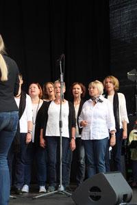 Sing'n'Swing Auftritt beim Stadtfest 2017  in Wiesbaden