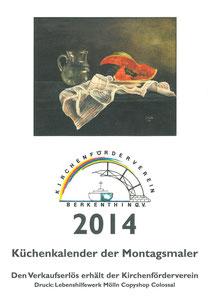Küchenkalender der Berkenthiner Montagsmaler - Deckblatt