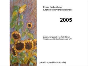 Kirchenfördervereinskalender 2005 - Deckblatt