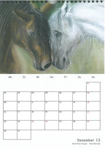Tierkalender der Berkenthiner Montagsmaler 2013 - Dezember