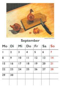 Küchenkalender 2014 - Rosemarie Franken  (Pastell)