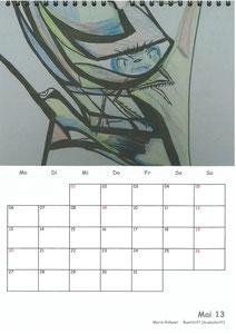 Tierkalender der Berkenthiner Montagsmaler 2013 - Mai