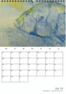 Tierkalender der Berkenthiner Montagsmaler 2013 - Juli